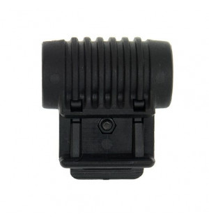 FLASHLIGHT MOUNT - BLACK