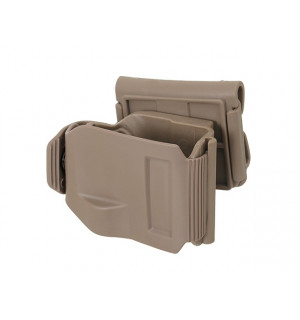 HOLSTER CLIP/FOR REPLICAS OF G.17, G.19, G.22, G.23 - TAN [ACM]