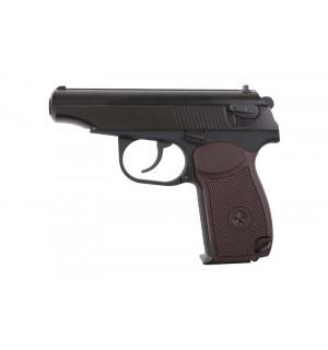 [WE] Пистолет с глушителем ПМ Classic ver. - Black/brown