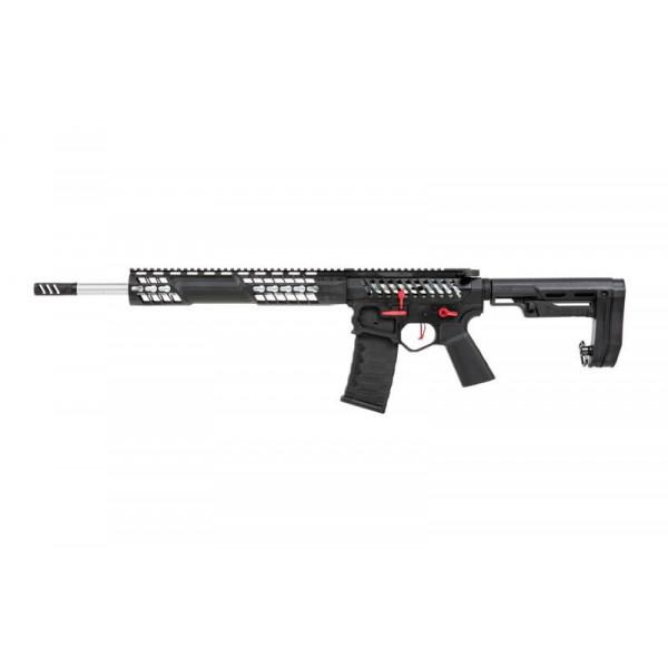 [APS] Штурмовая винтовка EMG F-1 BDR PTU carbine - black/red