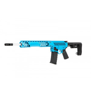 [APS] Штурмовая винтовка EMG F-1 BDR-BLS PTU carbine - blue