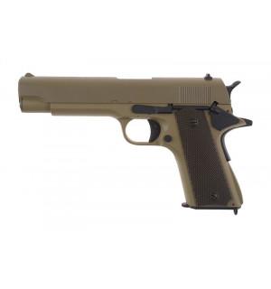 [CYMA] Пистолет Colt AEP CM123 - tan