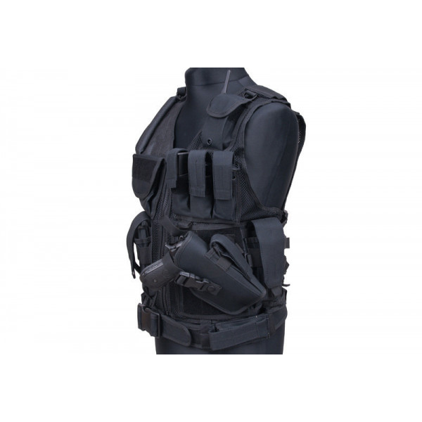[GFT] Тактический жилет KAM-39 tactical vest - black