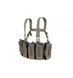 [CONDOR] Barrage Chest Rig Tactical Vest - Ranger Green