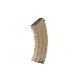 [CYMA] Магазин бункерный Hi-Cap 500 BB AK Magazine - ТАН