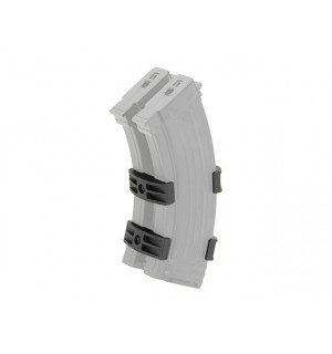 AK47 DUAL-MAGAZINE COUPLER - BLACK [BATTLEAXE]