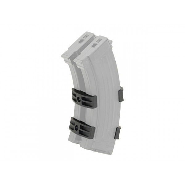 СПАРКА ДЛЯ AK47 DUAL-MAGAZINE COUPLER - BLACK [BATTLEAXE]