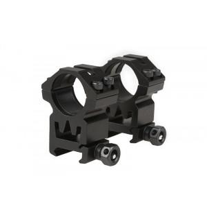 Кольца под оптический прицел Two-part 25mm optics mount for RIS rail (high)
