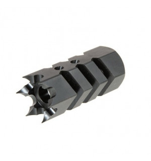 1.6 Steel Flash Hider - Black