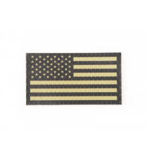IR patch - USA Flag left - tan