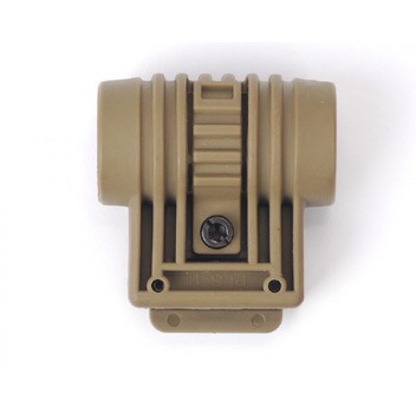 22 mm R.I.S. rail flashlight mount