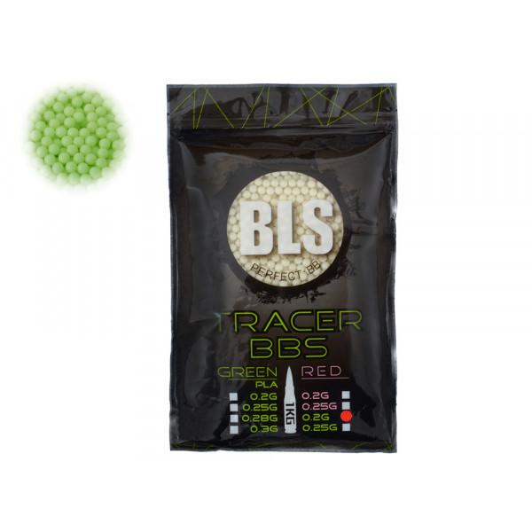 Шары BLS трассерные 0.20g 1kg Зеленые