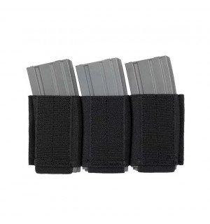 Plate Carrier Triple AR-15/M4 Magazine Insert - Black [8FIELDS]