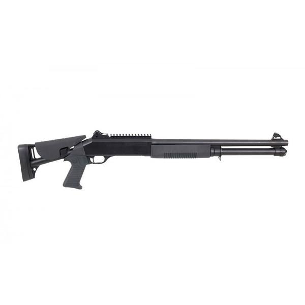 TRI-SHOT M56DL PUMP SHOTGUN - BLACK [DOUBLE EAGLE]