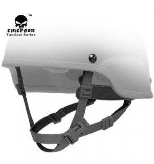 Система подкладки H-Nape для шлемов типа MICH - черная.
