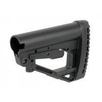RUSSIAN COLLAPSIBLE STOCK FOR AEG AK12/AKM/AK74 - BLACK [D-DAY]