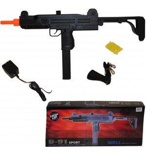 well d91 uzi - aeg automatic electric airsoft gun