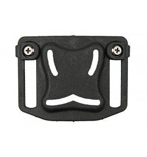 Belt adapter for holster - black