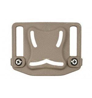 Belt adapter for holster - tan