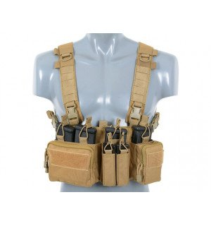 BUCKLE UP RECCE/SNIPER CHEST RIG - COYOTE [8FIELDS]