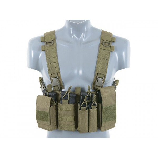BUCKLE UP CHEST RIG V3 - OLIVE [8FIELDS]