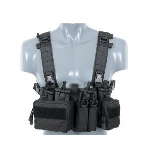 Buckle Up Recce/Sniper Chest Rig - Black [8FIELDS]