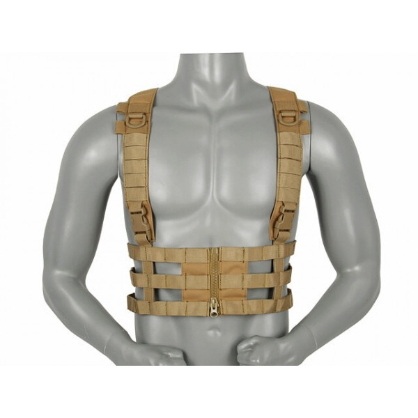 SKELETAL CHEST RIG - COYOTE [8FIELDS]