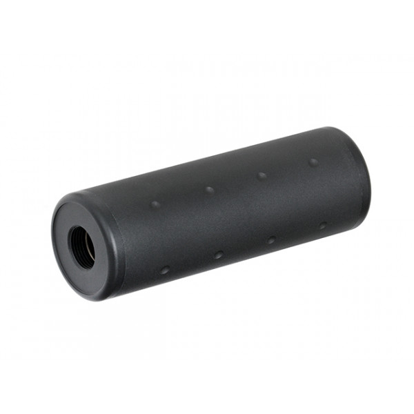 100MM 14CCW DUMMY SILENCER - BLCAK [CASTELLAN]