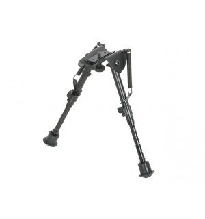 ADJUSTABLE BIPOD FOR HAND GUARDS - BLACK [ACM]