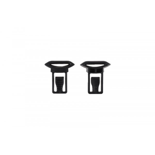 GOGGLE CLIPS (19mm) - BLACK