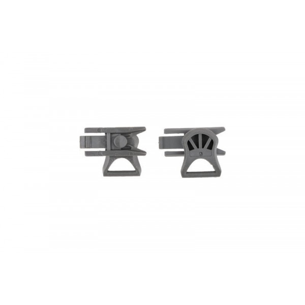 GOGGLE CLIPS (19mm) - FOLIAGE GREEN