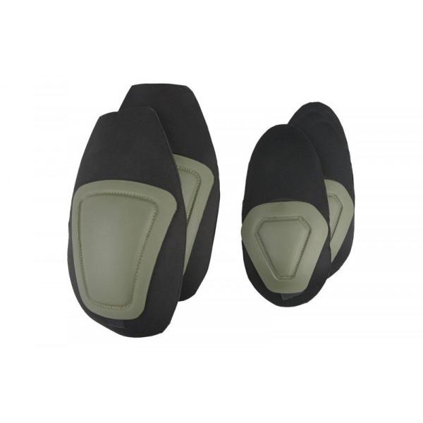 Combat Uniform Set of Protectors - Olive Drab