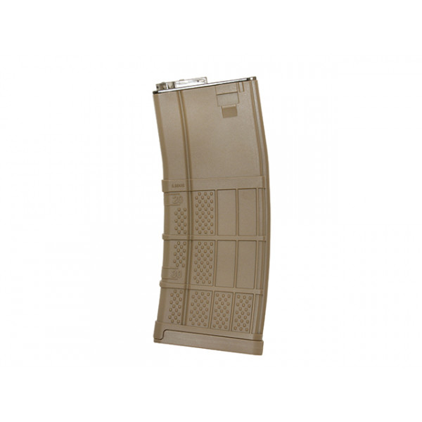 120rd ADVANCED POLYMER MID-CAP AR-15/M4 MAGAZINE - DARK EARTH [KUBLAI]