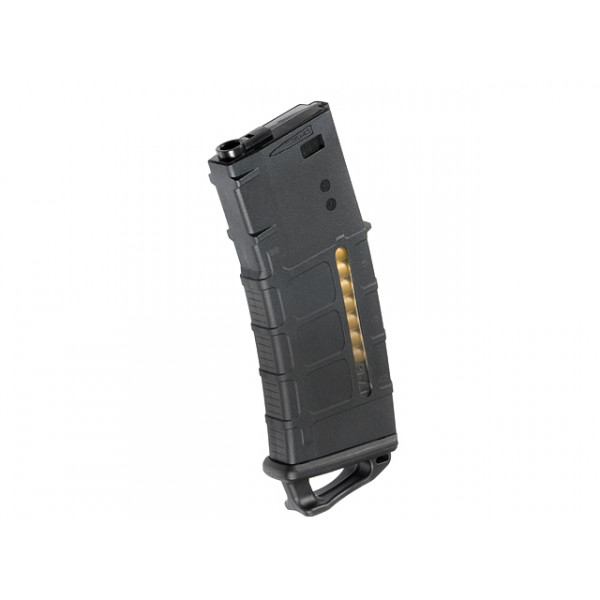 120RD M4/AR-15 MAGAZINE WITH DUMMY AMMO KIT A - BLACK [KUBLAI]