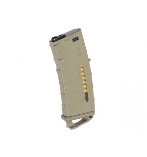 120RD M4/AR-15 MAGAZINE WITH DUMMY AMMO KIT A - DARK EARTH [KUBLAI]