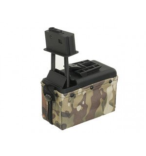 1500rd Electric Box Magazine (Compact size) for M249 - Multicam