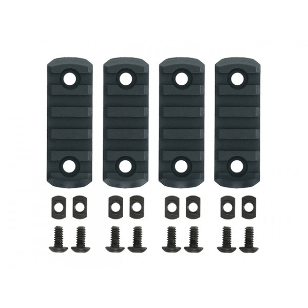 4-PC MLOCK POLYMER RAIL KIT - URBAN GRAY [TMC]