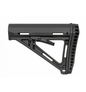 ERGONOMIC TACTICAL STOCK MOD.2 RUBBER Butt-Pad - BLACK [BIG DRAGON]