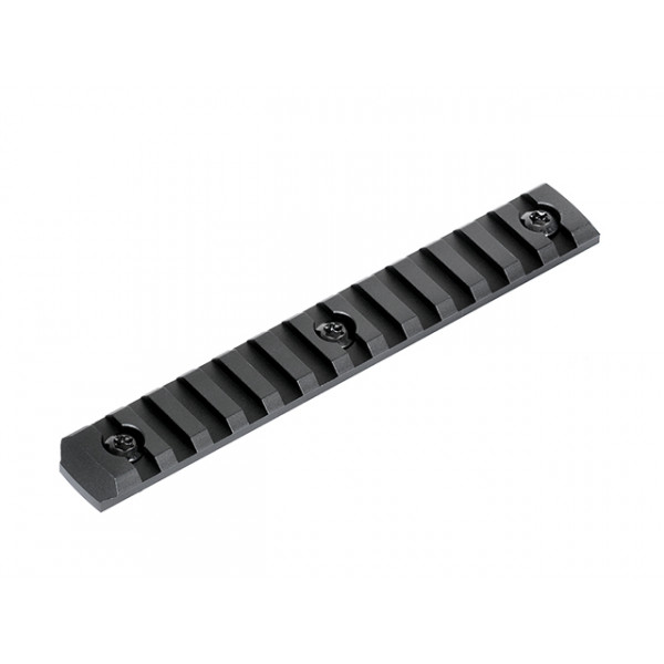13 SLOTS PICATINNY RAIL SECTION FOR MLOCK HANDGUARD - BLACK [BD]