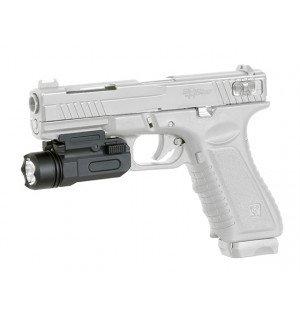 150LM TACTICAL LED FLASHLIGHT - BLACK [PCS]