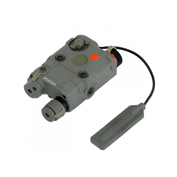 AN-PEQ-15 LIGHT + RED LASER WITH IR LENSES - OLIVE [FMA]