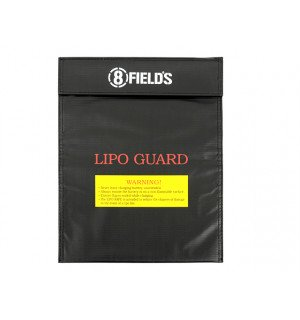 LARGE BAG FOR SAFE CHARGING OF LIPO BATTERIES [8FIELDS]