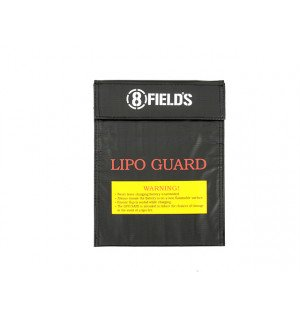 MEDIUM BAG FOR SAFE CHARGING OF LIPO BATTERIES [8FIELDS]