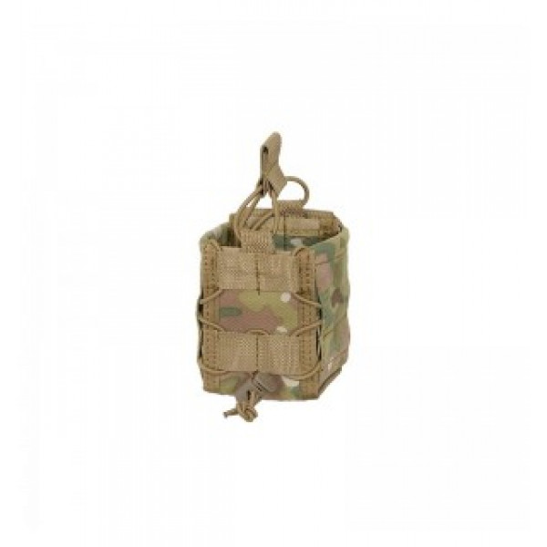 MOLLE DOUBLE RIFLE MAG SPEED POUCH - Multicam [8FIELDS]