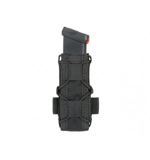 BELT MOUNTED PISTOL MAG SPEED POUCH - BLACK [8FIELDS]