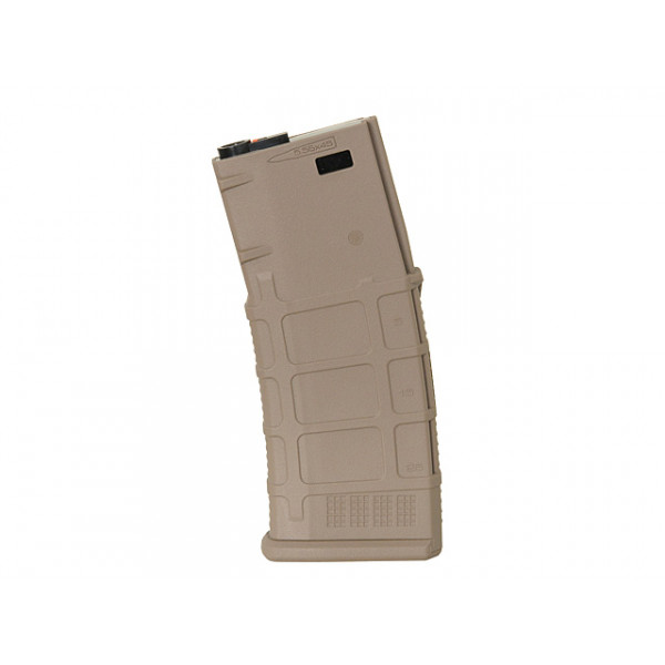 120RD POLYMER MID-CAP MAGAZINE FOR M4/AR-15 SERIES - DARK EARTH [KUBLAI]