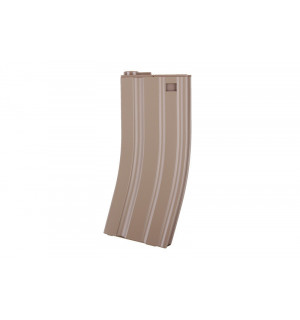 30RD METAL REAL-CAP MAGAZINE FOR M4/M16 - TAN