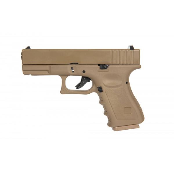 EC-1301 pistol replica - Tan [E&C]