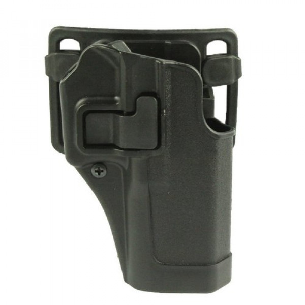 QUICKLY PISTOL HOLSTER WITH LOCKING MECHANISM FOR G.17 - OLIVE [CS]