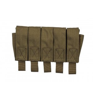 [Rarog] Подсумок для 5 гранат ВОГ-25,MOLLE - Ranger green